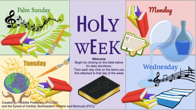 Holy Week 1 - 2021